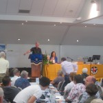 Speaking at the UCA QLD Synod with Rev Gregor Henderson